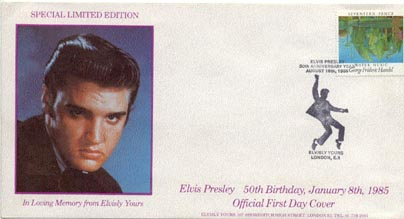 Elvis First Day Cover