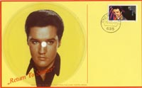 Elvis First Day Cover plays Return To Sender